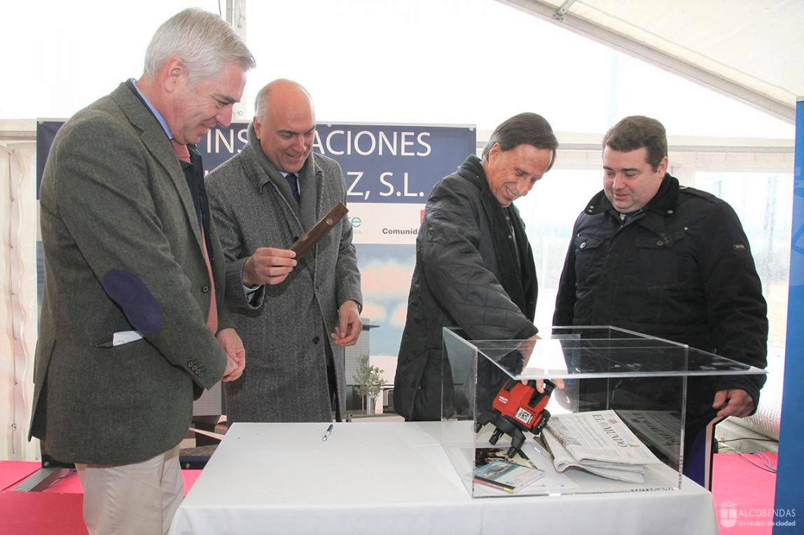 Montajes Delsaz lays the first stone of its new facilities