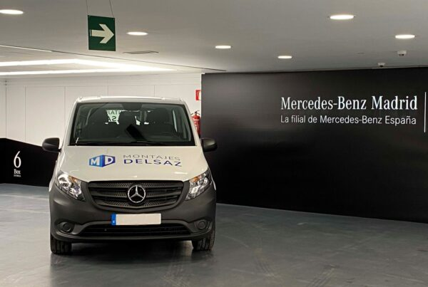 Montajes Delsaz Mercedes Benz vehiculo eléctrico