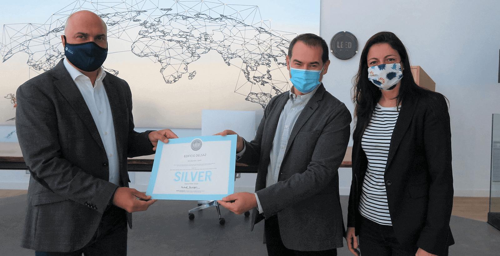 La nueva sede de Montajes Delsaz recibe la Certificación LEED Plata
