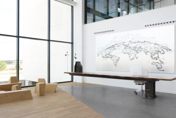 El nuevo espacio de trabajo de MontajesDelsaz inspirado en un diseño biofílico